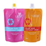 [새롬] 칼라(Calla) 볼륨 매직 스트레이트 크림 1,2제 각 500ml