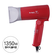 [예스뷰티] 휴대용 드라이기 YB-1000 레드(Red)
