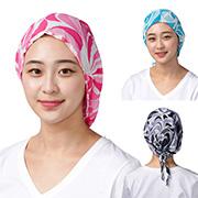 [요들] 핑클 모자형 끈 스카프