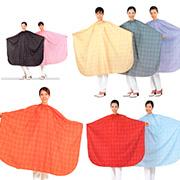 [유미가운] 체크무늬 커트보