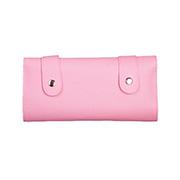 가위집 핸드메이드 지갑 Style 6~12정용 Triple Roll cass 핑크
