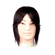 [W2] 100% 인모 남자마네킹 연습용 통가발 12인치 약 30.48cm